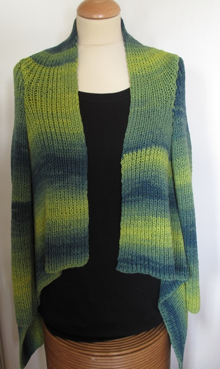 waterfall cardigan pattern only addicted2knit